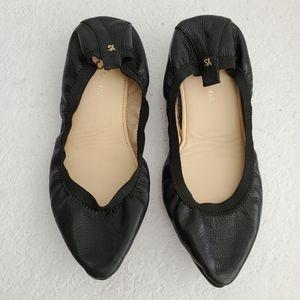 yosi samra vienna pointed toe foldable ballet flat